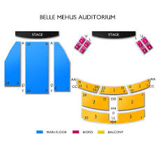 Belle Mehus Auditorium Concert Tickets