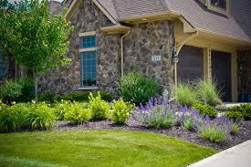 Hoot Landscape Front Yard Design Fort Wayne
