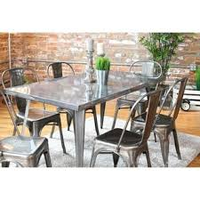 hardware dining table exclusive: austin industrial metal dining table p austin industrial metal dining table