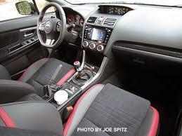 subaru wrx 2016 interior. 2016 subaru sti interior from the passenger side black alcantara plastic carbon dash wrx