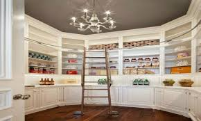 Walk In Kitchen Pantry Billy Bookcase Built In With Doors Walk In Pantry Open Kitchen