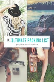 Packing Lists Packing List & Advice for Long-Term Round the World Travel