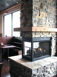 fantastic warm nice adorable sided gas fireplace small glass design concept double fireplaces south africa wood