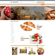 Food Store Templates | TemplateMonster