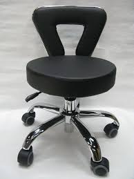 White Rolling Chair Amazoncom Spa Chair Pedicure Stool For Nail Hair Facial