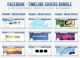 6 Free Cover Templates For Facebook Timeline Photo Template