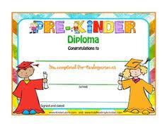 Prek Diploma 16 Best Preschool Diploma Images Kindergarten Graduation