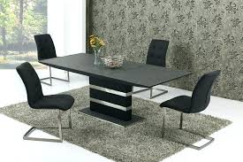 tag archived of black glass extending dining table 6 chairs round retro round glass top dining table set retro round glass top dining table set