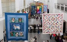Eqyptian tentmaking comes to Ontario quilting showcase – Daily ... & Colorful and intricate quilts hang from the rafters of the Ontario  Convention Center during a previous Adamdwight.com
