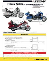Load Limit Calculator Dunlop Motorcycle