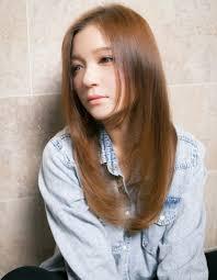 前髪長めロングストレートta146 ヘアカタログ髪型ヘアスタイル