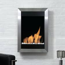 ventless electric fireplace bio blaze square vertical stainless steel wall mounted ethanol quincy free standing corner