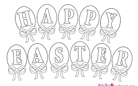 Easter To Print For Free Kids Coloring Pages Egg Colouring Adults
