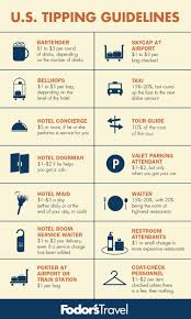 Tipping Chart Usa Us Tipping Guide Business Insider
