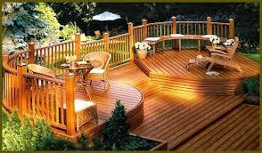 wood deck cost. Backyard Wooden Decks Wood Deck Cost