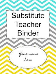 Teacher Binder Templates This Entire Substitute Teacher Binder Is Editable Ppt Video Online