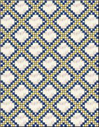 Triple Irish Chain Quilt: Quilt Blocks and Patterns & Triple Irish Chain Quilt - 3 fabrics Adamdwight.com