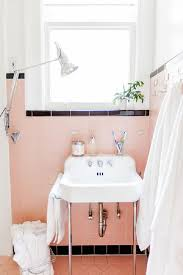 Retro Bathrooms Best Roze Badkamer Set Pink And Black Bathroom With An Original Retro