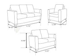 couch dimensions