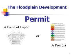 Building Permit Flow Chart The Floodplain Development Ppt Download
