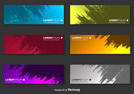 free banner backgrounds abstract banner free vector art 46402 free downloads