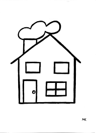 Tekening Huis Latest Canvas Gelukkige Familie In Eigen Huis Smiling