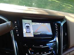 cadillac escalade 2016 back. the rear view camera shows you what is around car and also on your cadillac escalade 2016 back