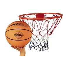 basketball ring and ball set smyths
