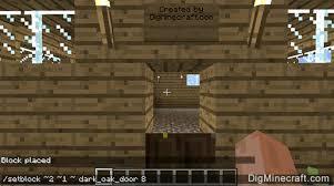 minecraft door. Setblock Command Minecraft Door
