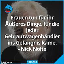 Nick Nolte Spruchzitat über Frauen