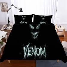 Household Items Movie <b>Venom</b> Theme Digital Printing <b>Bedding</b> ...
