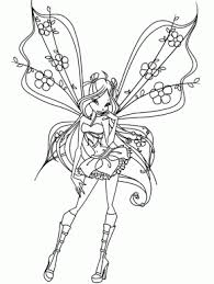 Small Picture Free coloring pages and coloring book Page 37 Fairies 4
