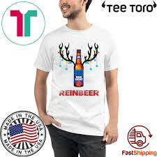 Funny Bud Light Shirts Bud Light Reinbeer Christmas Funny T Shirt Breakshirts Office