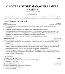 Food Store Manager Sample Resume Retail Store Manager Resume Sample India Awesome Coffee Shop 2