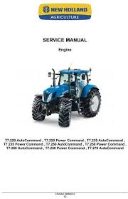 1000 images about new holland manuals high quality new holland tractors t7 220 t7 235 t7 250 t7 260 t7 270 workshop service manual