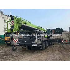 China Truck Crane Zoomlion Lifting Equipment 55 Tons Mobile
