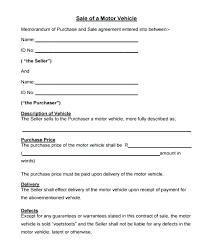 Sale Of Car Contract Car Sale Contract Template Pdf Skincense Co
