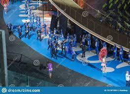 Minsk, Bielorussia 21 Giugno 2019: La Squadra Nazionale Di Kosovo Alla  Cerimonia Di Apertura Dei Secondi Giochi Europei A Minsk Immagine  Editoriale - Immagine di olimpiade, esposizione: 151367050