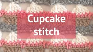 Crochet Cupcake Pattern Custom HOW TO CROCHET A CUPCAKE STITCH YouTube