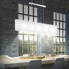 Chrom Beleuchtung Schlaf Ess Wohn Lampe Pendel Decken Glas