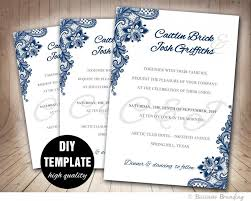 wedding invite template download printable wedding invitations template download them or print