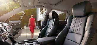 which honda accord has leather seats