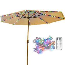 Cheap Umbrella Lights Best Patio Umbrella Lights Wonderful Lights For Outdoor Use