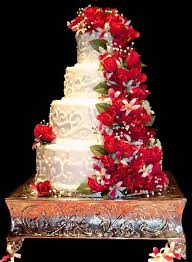 beautiful white and red wedding cakes. Interesting And Beautiful White Wedding Cake To And Red Cakes H