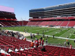 Levis Stadium View From Section 110 Vivid Seats