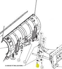 snowdogg cutting edge parts snowplowsplus snow plow spreader snowdogg part 16101180 hinge pin kit ss w washer cotter