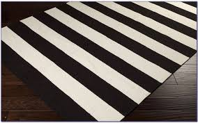 ikea striped rug unique black and white striped rugs ikea