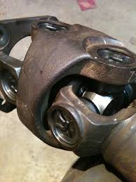 Spicer U-Joints All the way around... Axle, Front, and Rear Shaft ...