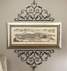 iron wall mirror wrought iron wall mirrors decorative stunning decoration wrought iron wall decor monograms wrought