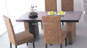 lofty inspiration rattan dining table base round glass top 6 chairs with and sofa 4 full